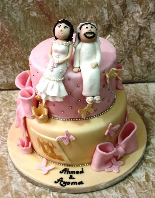 arabic wedding 2layers
